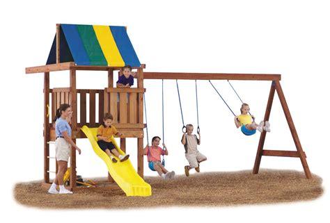 wood swing set kit wrangler diy custom play set hardware kit swing n slide