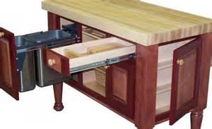 splendid butcher block kitchen island cart with pull out - Butchers Block Trolley With Drawers