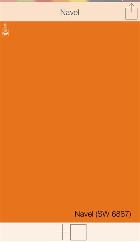 paint color finder app orange front door colors navel sw 6887 sherwin