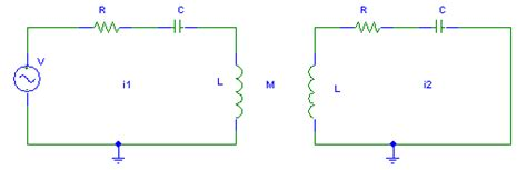 coupled inductors formula rlc inductively coupled circuits