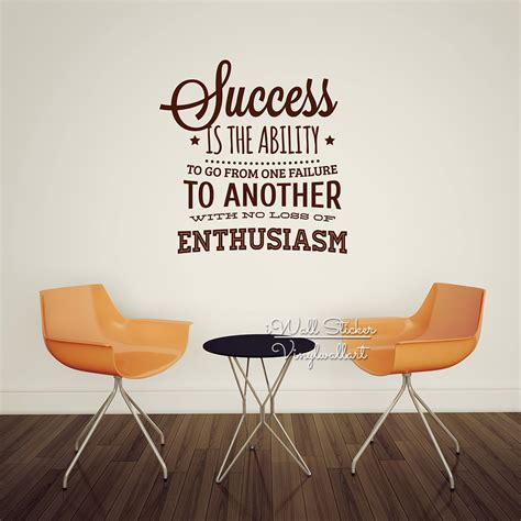 success inspirational motivation vinyl wall quote decal online buy wholesale success inspiration from china