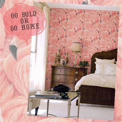 Wallpapers For Bedroom Walls albany wallpaper dahlia flamingo themed bedroom