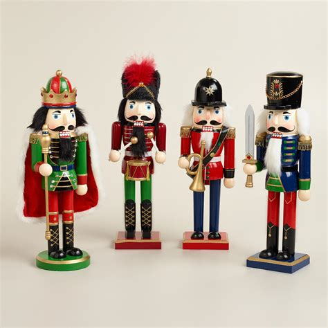 traditional nutcrackers set of 4 world market