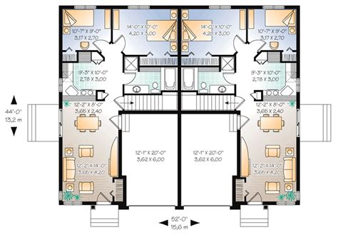 cool house plans duplex 9 fresh cool house plans duplex house plans 81344