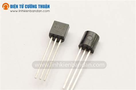transistor npn hfe 200 a1268 transistor npn 120v 100ma audio điện tử cường thuận