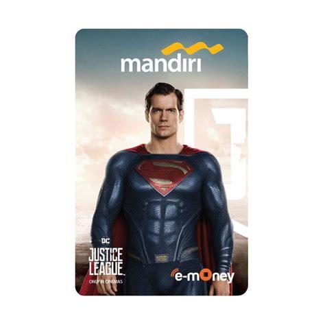 E Money Flazz Catalog 6 Saldo 30rb jual mandiri e money justice league character edition