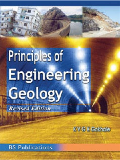a geology for engineers seventh edition books principles of engineering geology by gokhale k price in