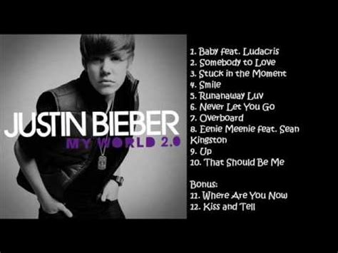 justin bieber my world songs youtube justin bieber my world 2 0 songs youtube