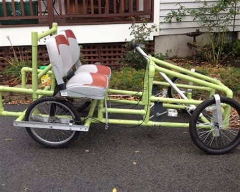 build from pvc pipe car image gallery homemade pedal car