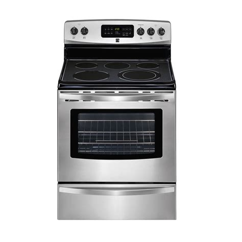 Kenmore Stove by Kenmore Self Cleaning Electric Range Versatility At Sears