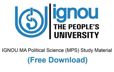 Political Science Fragomen Mba by Ignou Ma Political Science Study Material Books Free