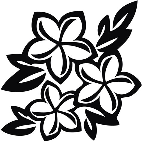 Wedding Flowers Clip Black And White by Black And White Flower Design Clipart Free Best