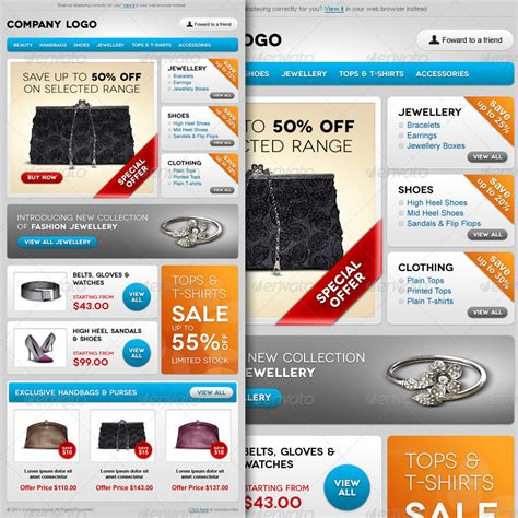 E Commerce Special Offer Email Template Design By R Genesis Graphicriver Special Offer Email Template
