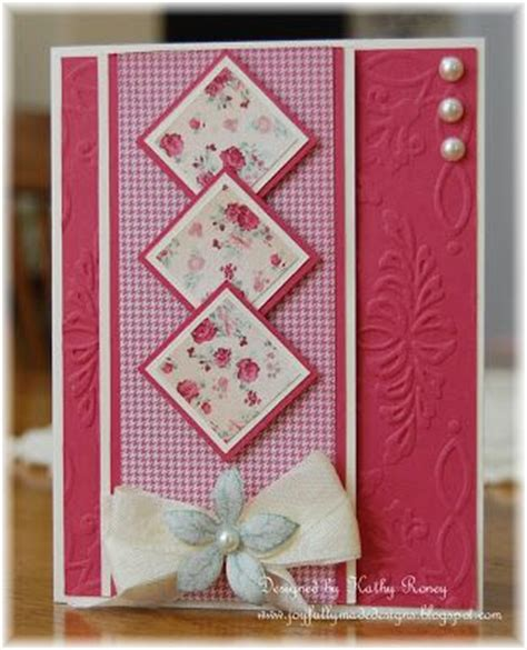 Pretty Handmade Cards - 77 best images about cards one sheet on