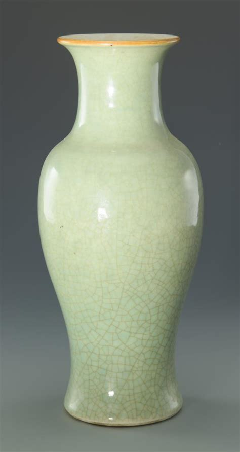 Celadon Vase by Lot 44 Celadon Vase