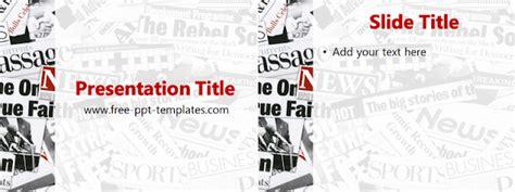 Popular Slides Newspaper Template