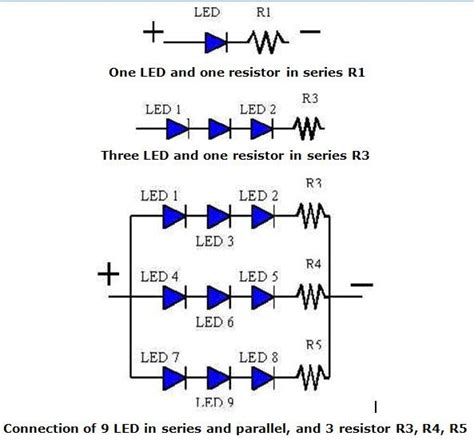 how does a resistor and led and a pcb work together use led with resistors