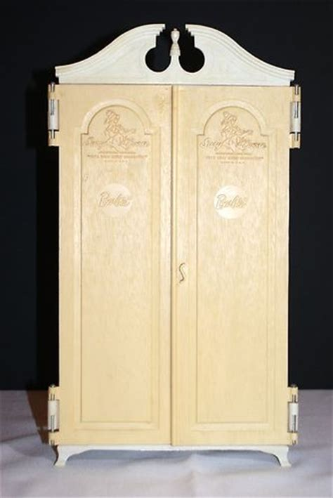 barbie armoire vintage susy goose ken barbie doll closet armoire
