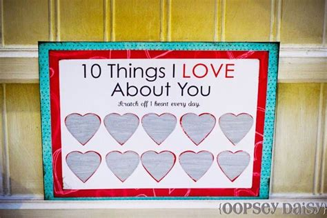 S Day Scratch Card Template by 10 Things I About You Creative Ideas
