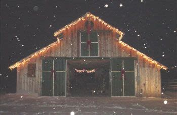 christmas barn gingerbread village pinterest