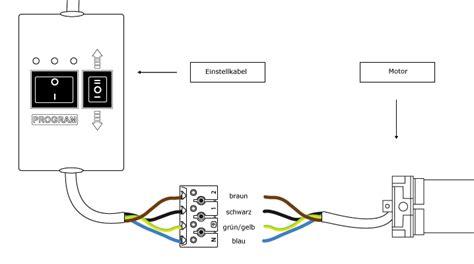 elektrische markise einstellen jarolift einstellkabel setzkabel f 252 r tdep rolladenmotor