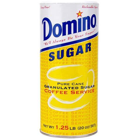 Domino Sugar Canister 20 Oz   CoffeeIcon