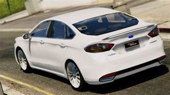 Ford Fusion Mods 2015 Ford Fusion Titanium Gta5 Mods
