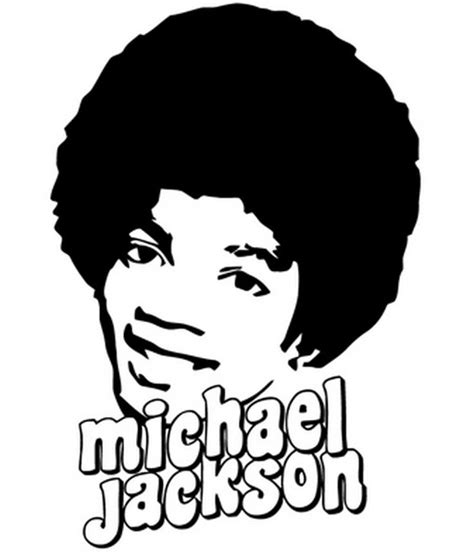 coloring pages with the name jackson coloring page michael jackson 7