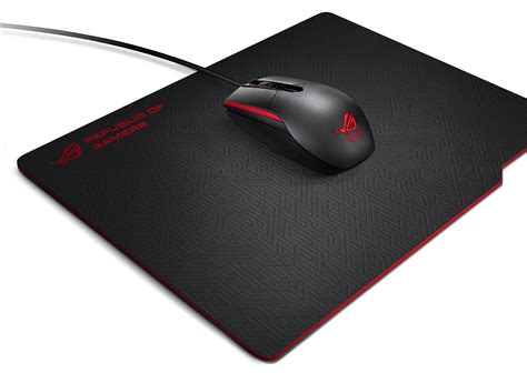 Mouse Pad asus republic of gamers announces sica mouse and whetstone