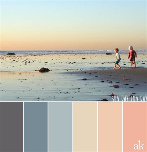 beach color 25 best ideas about beach color palettes on pinterest