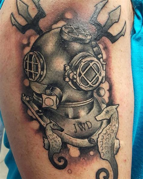 diving helmet tattoo designs 17 best images about sailor tattoos bydiver969 on