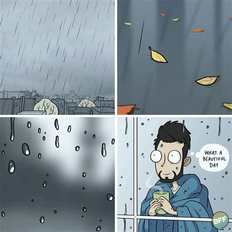 libro rainy days das de 20 comics that introverts will understand bored panda