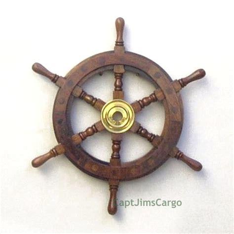 17 best nautical teak ship 17 best nautical teak ship s steering wheels images on