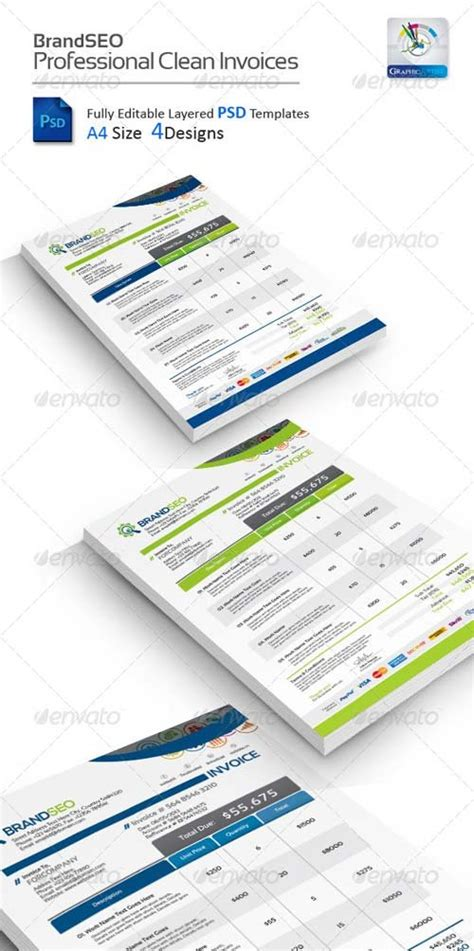 layout template graphicriver stationery design graphicriver brandseo creative psd