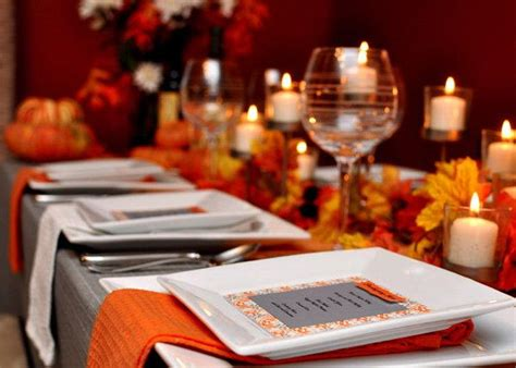 thanksgiving table decorations modern modern thanksgiving tablescapes the bright ideas