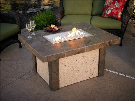 Patio Table With Fire Pit Built In Costco Horses Patio Table Pit Costco