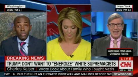 cnn live news room anchor cnn news anchor slammed on for breaking in tears guest saying n word