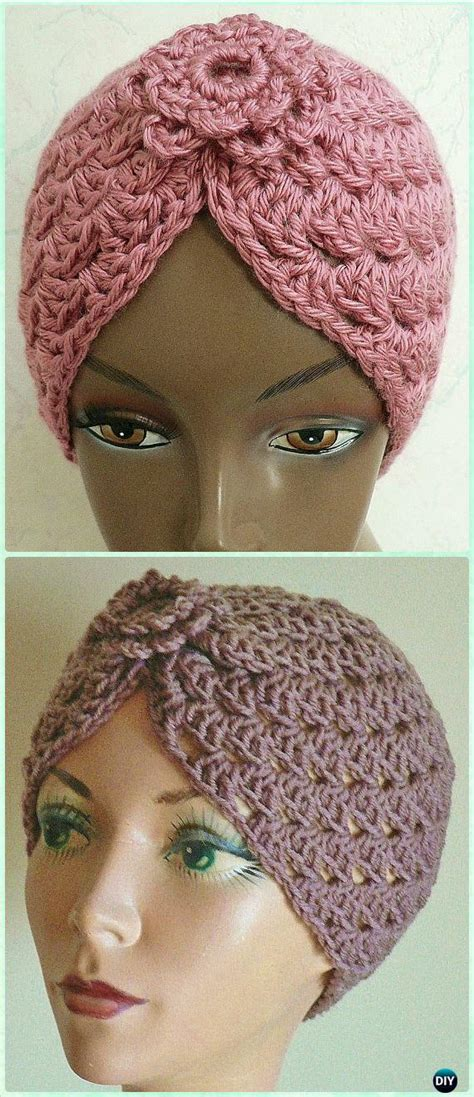 turban crochet tutorial crochet turban hat free patterns instructions