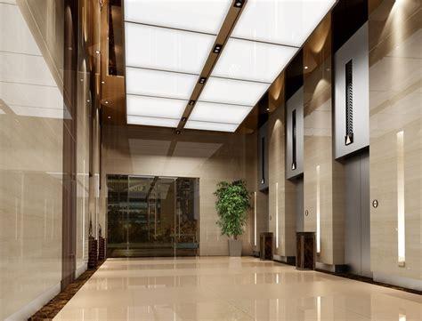 minimalistic hotel elevator hall design 3d rendering elevator hallway ceiling interior design 3d inspiration