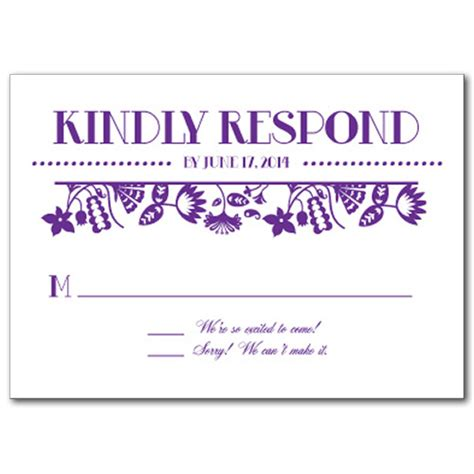 rsvp template for event modern theme weddings