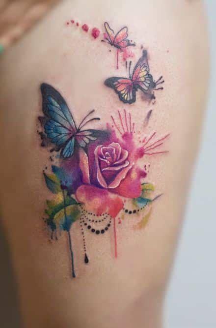 imagenes mujeres mariposas tatuajes de mariposas diferentes ideas y dise 241 os a color y