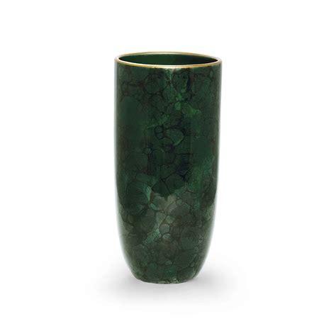 Malachite Vase by Buy Aerin Smooth Vase Malachite Green Gold Amara