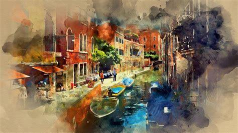 water color watercolor photoshop tutorial