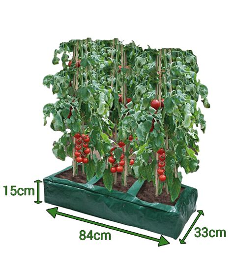 garland grow bag reusable planter tomato peas beans