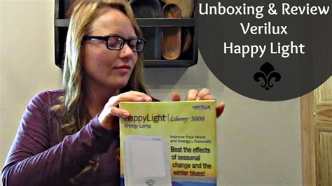 verilux happy light reviews unboxing review of verilux happy light sad light youtube