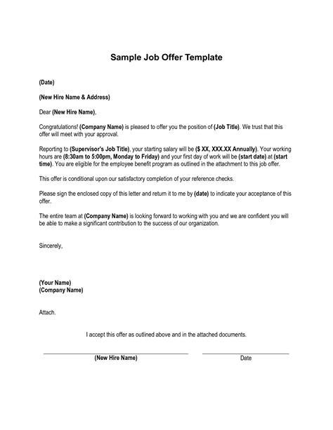 sample job offer counter proposal letter proposalsampleletter com