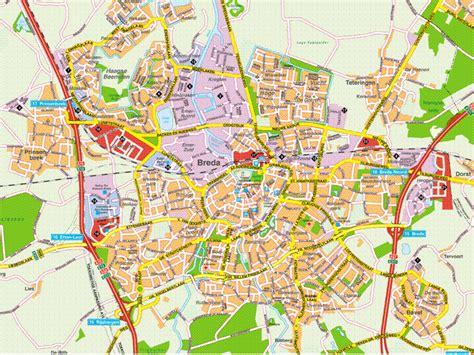 breda netherlands on map breda map and breda satellite image