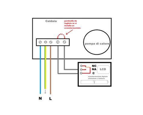 collegamento termostato caldaia collegamenti elettrici tra un termostato ed una caldaia