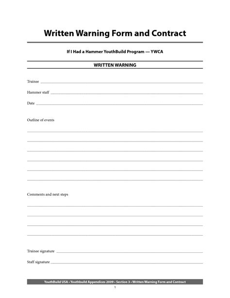 verbal warning letter template pro thai tk