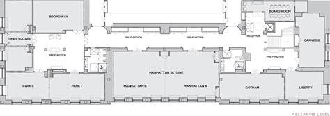 the statler hotel mezzanine floor plan park central hotel meeting space in new york city